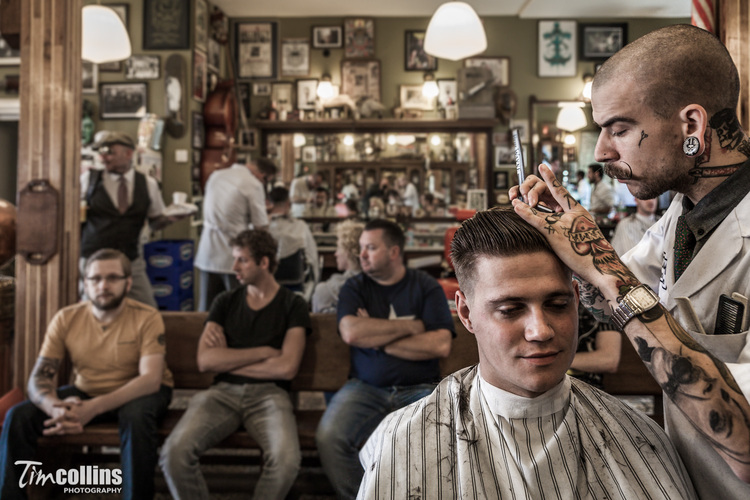 Tim Collins Photography Schorem Barbers 7089