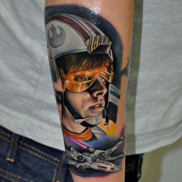 Tattoo Arm Fantasy Star Wars