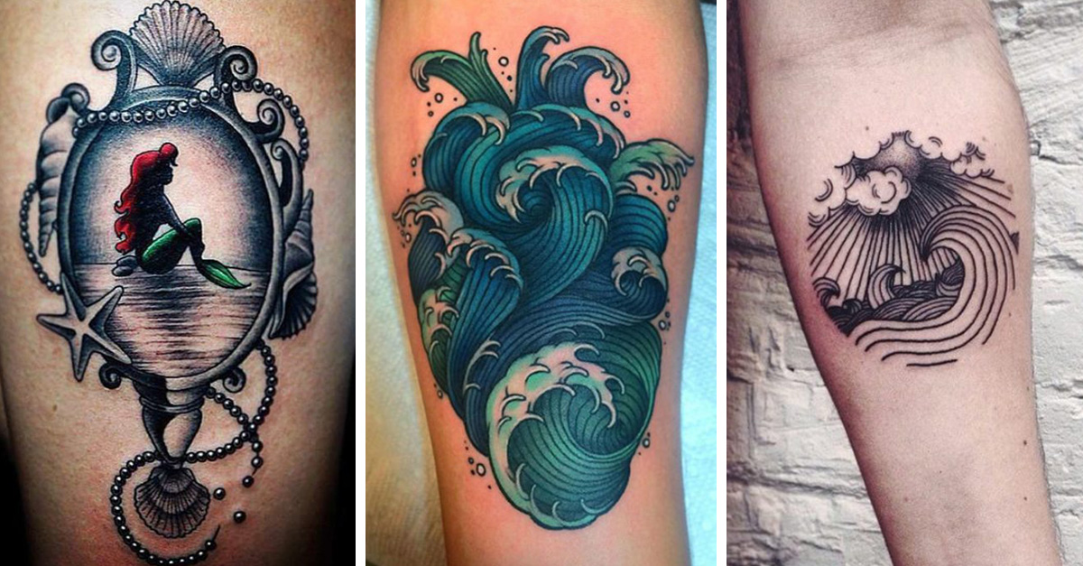 Tatuajes Para Los Amantes Del Mar Beqbe