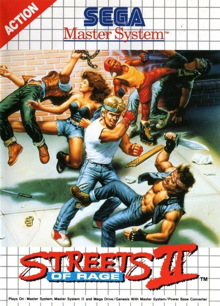 Streets Of Rage Los Macarras Toman Sega Master System 4