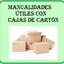 5 manualidades con cajas de cartón