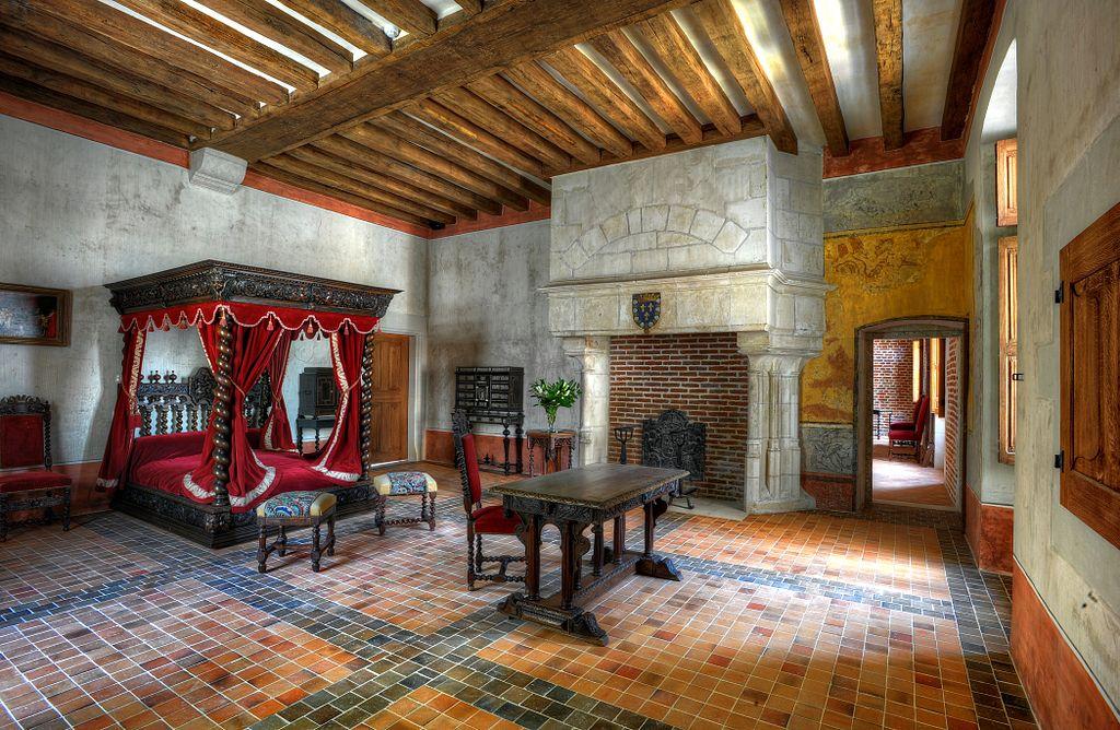 La chambre de Léonard de Vinci.