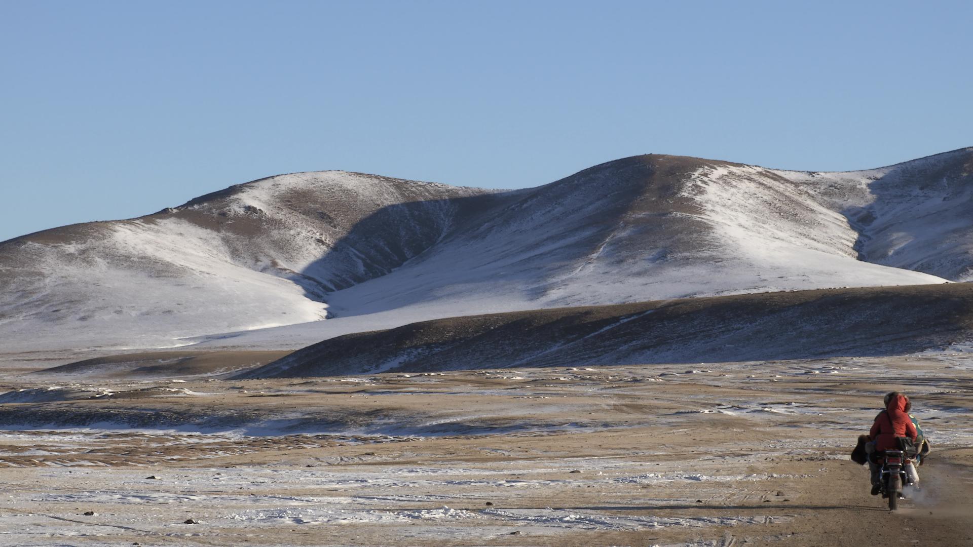 Caminos de la estepa mongola