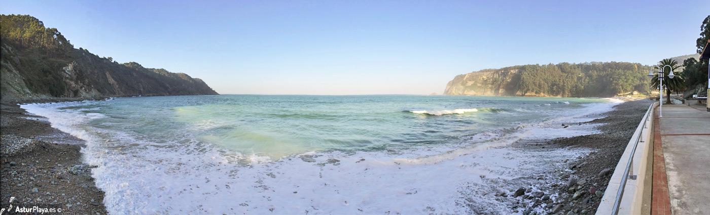 Concha De Artedo Beach Cudillero3