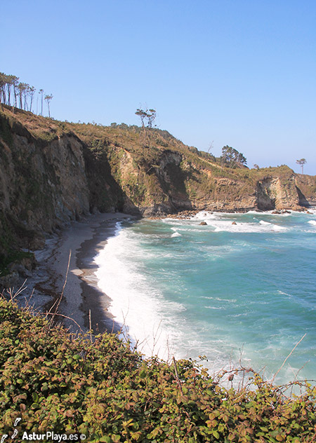 Cambaredo Beach Western Side Asturias