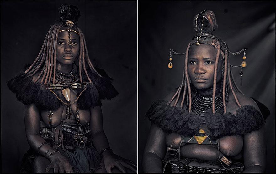 Himba, en Namibie