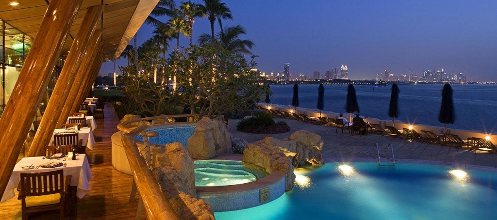 Burj Al Arab Hotel Vistas Piscina