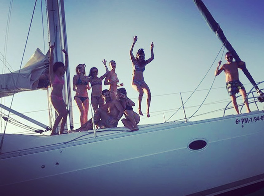 Yanpy Post 145 Sailing With Friends