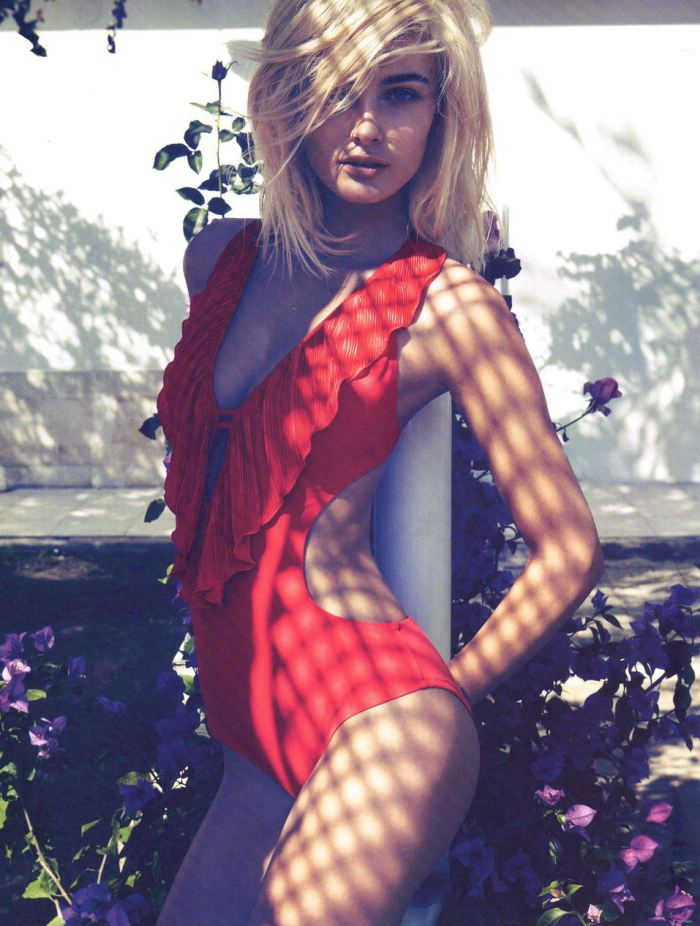 Scriptical Wordpress Edita Vilkeviciute By Camilla Akrans For Hm Magazine Summer 2012 9