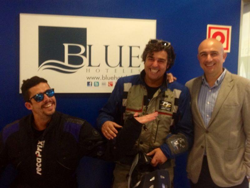 El Bufalo Moto Blue Hoteles Santa Rosa Gijon