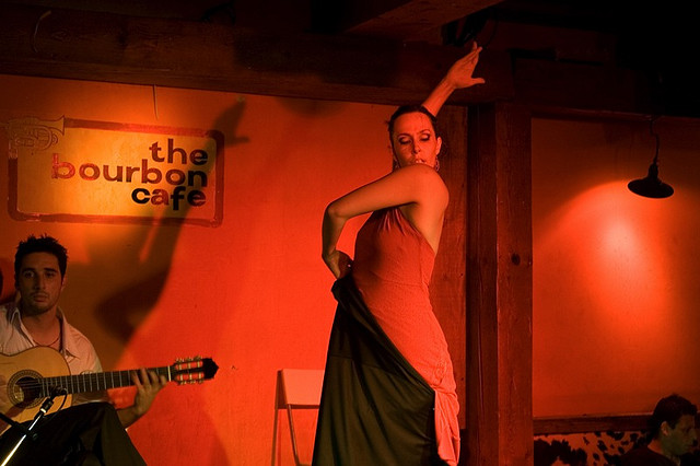 Photo: Brandie Heinel - Flamenco dancing