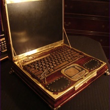 Datamancer's Steampunk Laptop