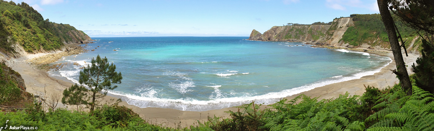 Oleiros Beach Cudillero Asturias1