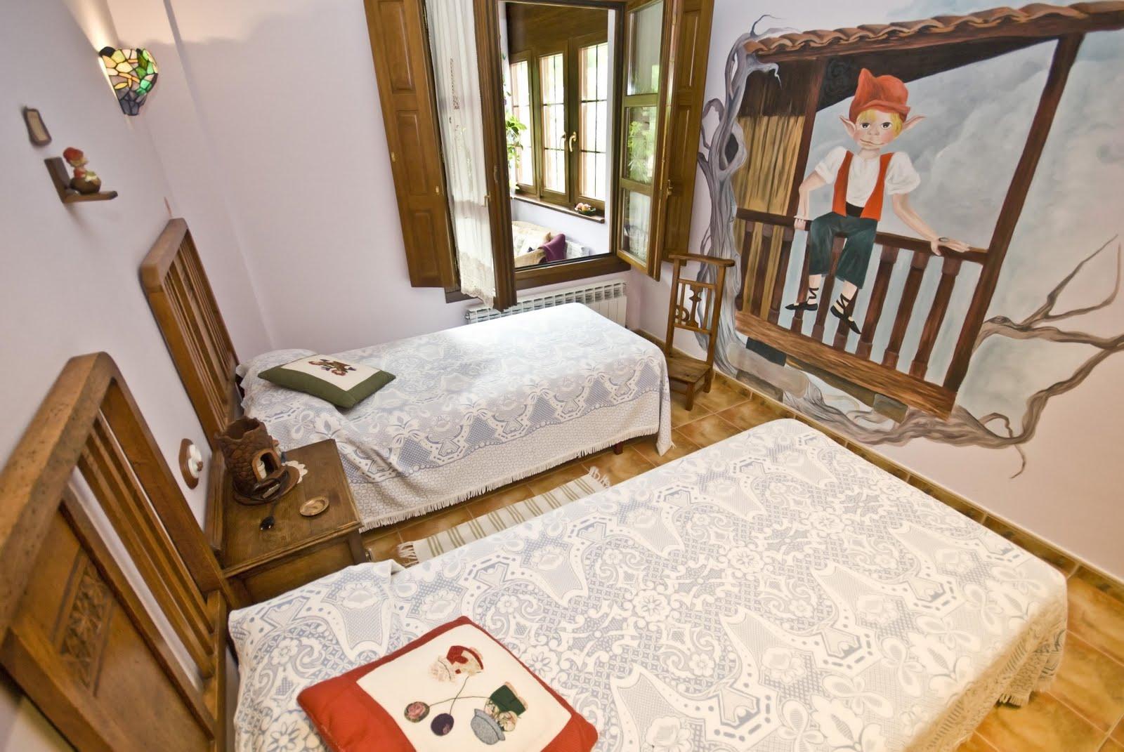 Habitaciones representativas de la mitología asturiana