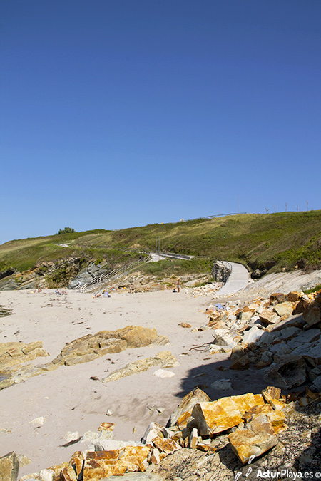 Arnao Beach Castropol