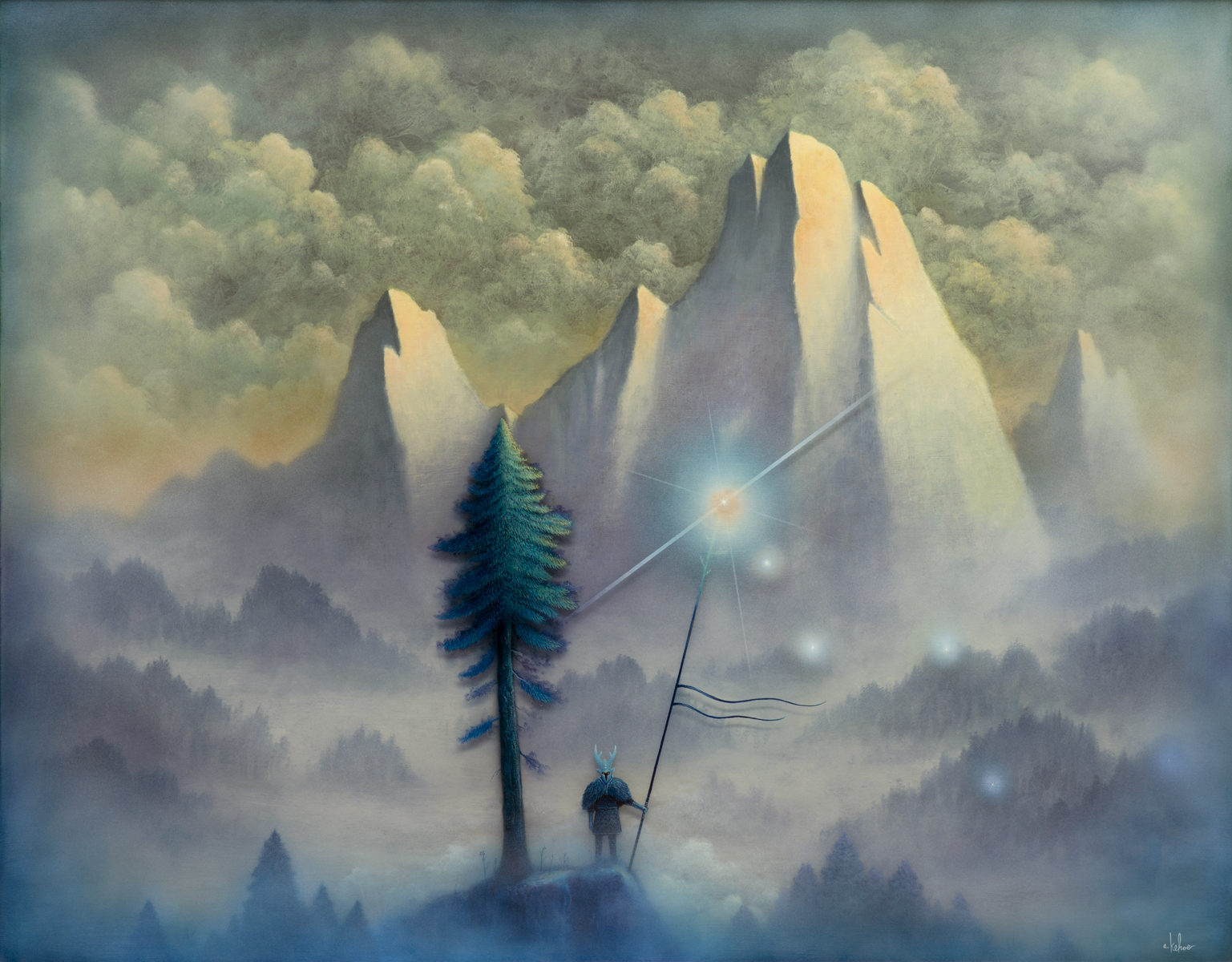 Andy Kehoe Illuminating Lands Of Shadow