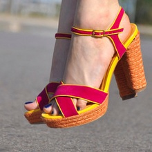 Shopping sandalias tacón