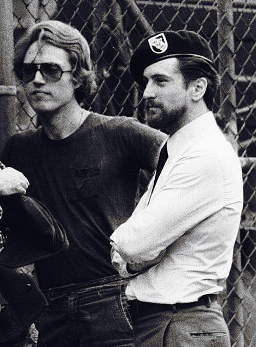 Christopher Walken And Robert De Niro On The Set Of The Deer Hunter 1978