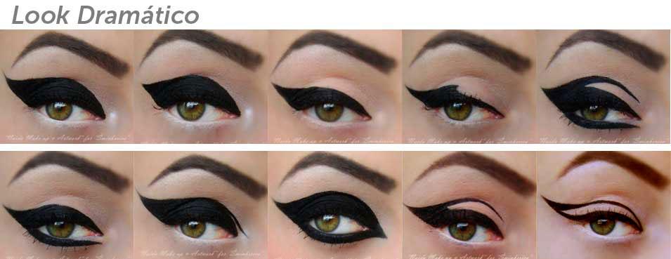 Todo Sobre Eyeliner Look Dramatico