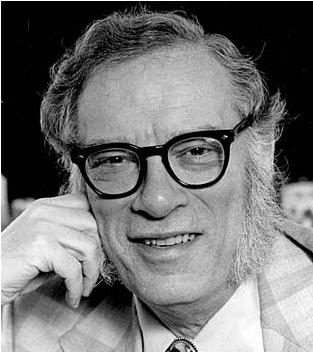 Bioquímico y novelista Isaac Asimov.