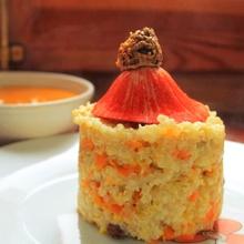 Quinoa con zanahoria y calabaza