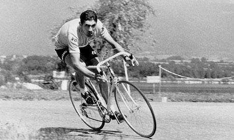 Eddy Merckx llevó durante 96 días el maillot de líder