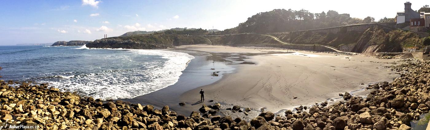 Arnao Beach Castrillon Asturias1