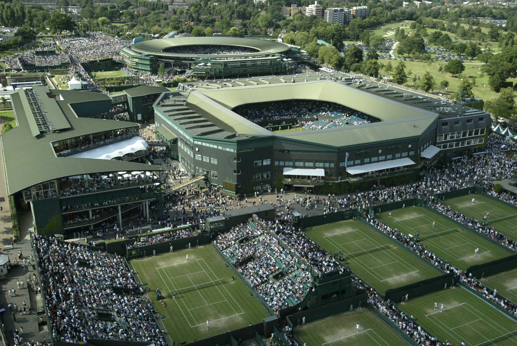 Wimbledon Stadium Tennis