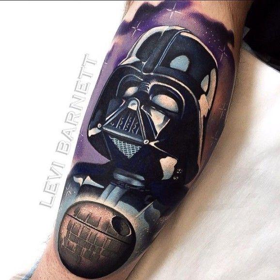Darth Vader Tattoo 9