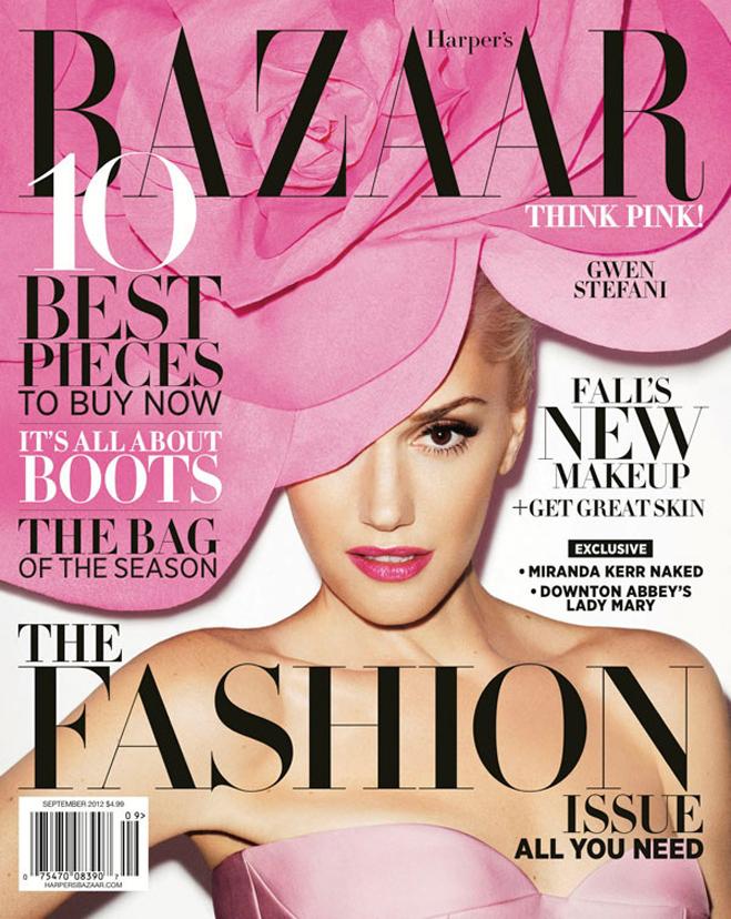 Covers Gwen Stefani Harpersbazaar
