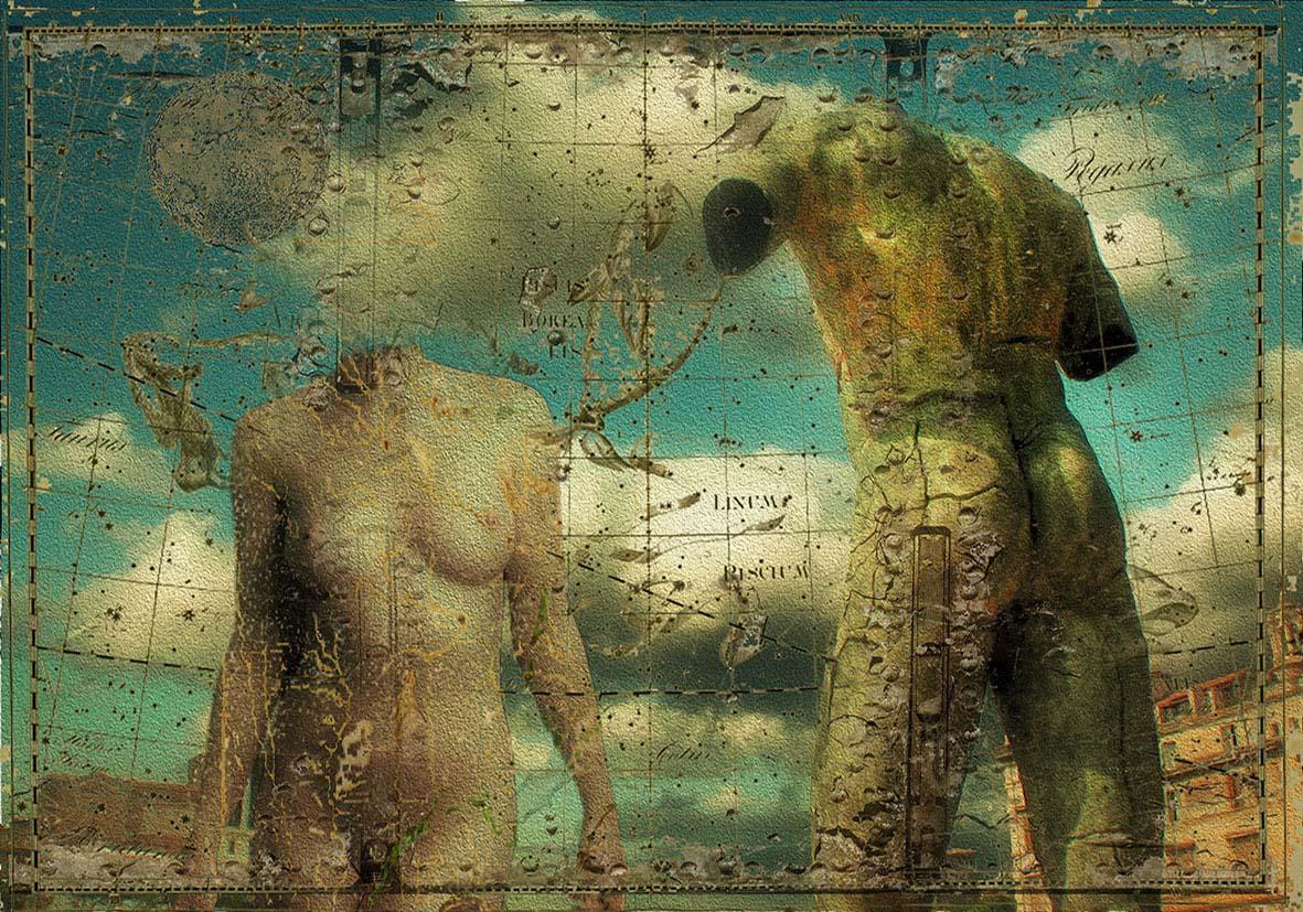 Perseo y Medusa. Impresión sobre papel. (45x65cm)