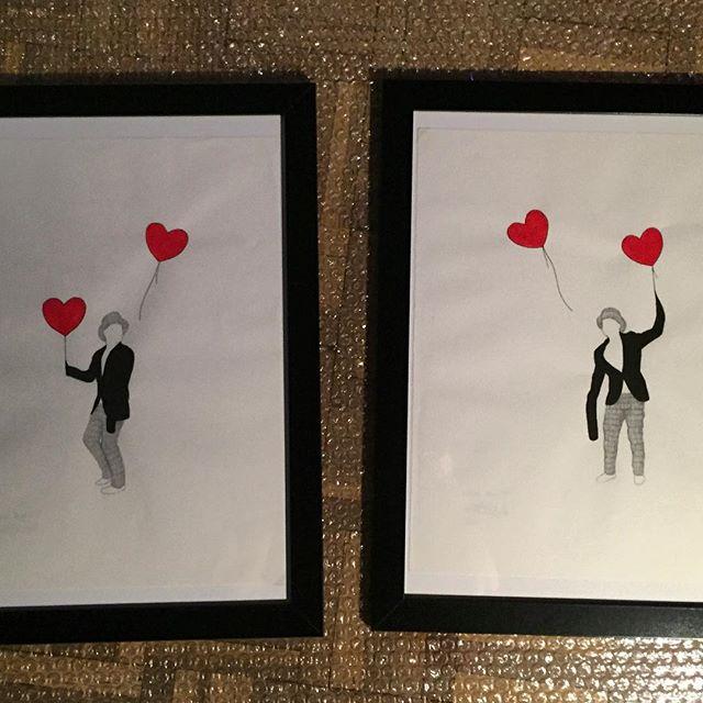 Estamos De Enhorabuena Estas Dos Piezas De La Serie 99redballons De Moribundoporelarte Tienen Nuevo Hogar La Mejor Forma De Apoyar El Arte Es Comprar Arte Redpoint Art Madrid Soldout Draw 7veoarte Http Bit Ly Veoartevg