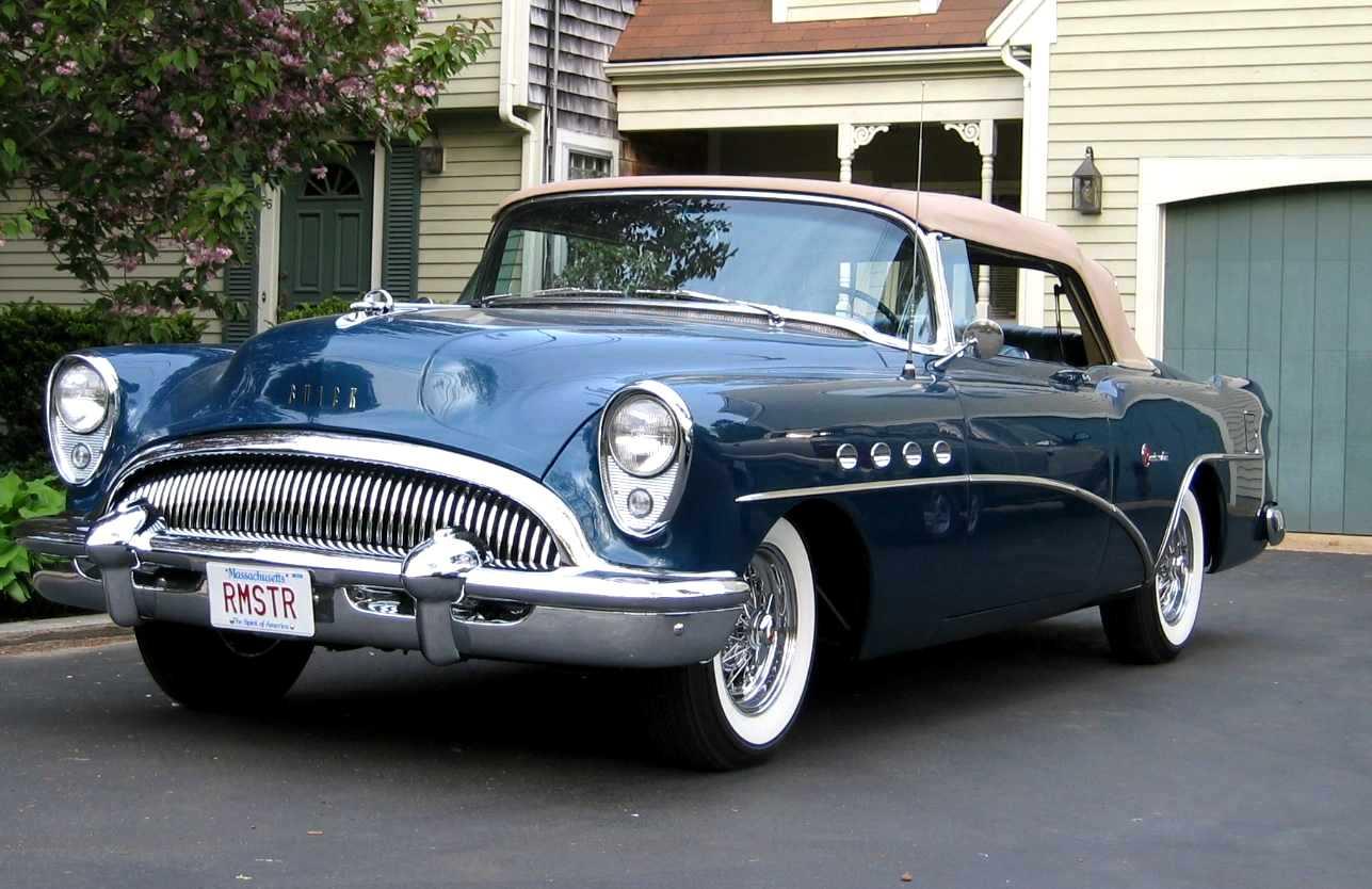 1954 Buick Roadmaster Convertible