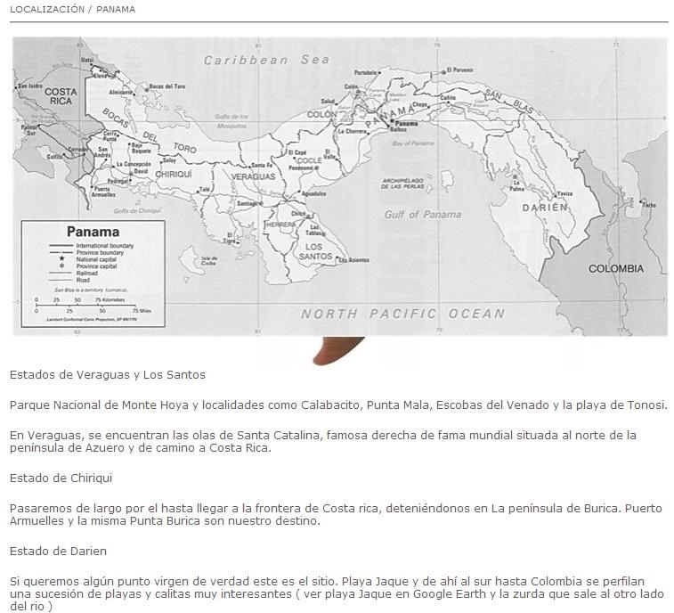 RUTAS: Panama