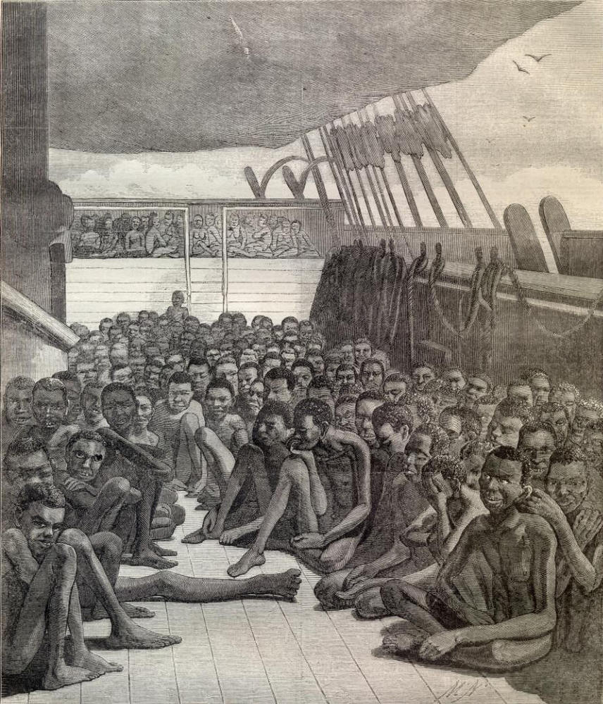 1362878434 Africans On The Slave Ship