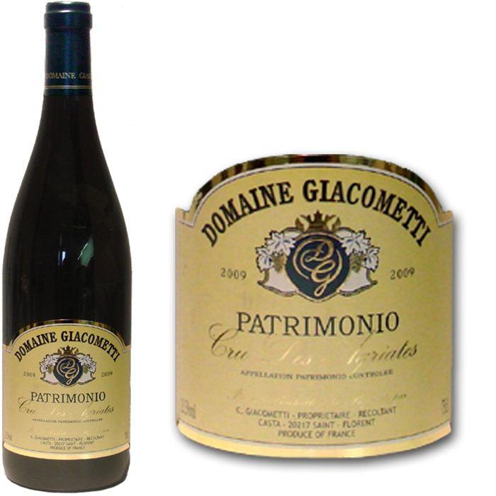 Domaine Giacometti Patrimonio 2009