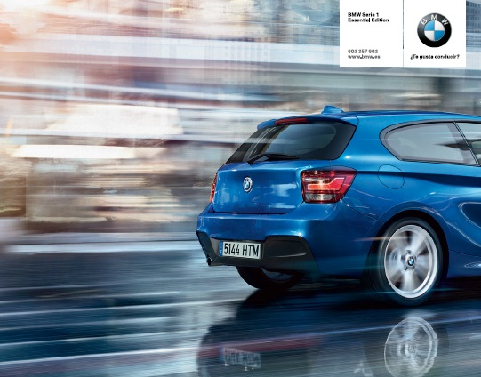 BMW SERIE 1 ESSENTIAL EDITION DESDE 19.300€ O 145€/MES