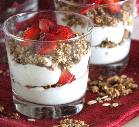 Quinoa Con Yogurt