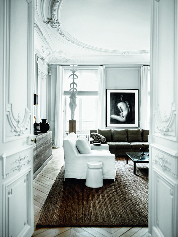 Parisian Apartment Of Gilles And Boissier Afflante Com 4 1