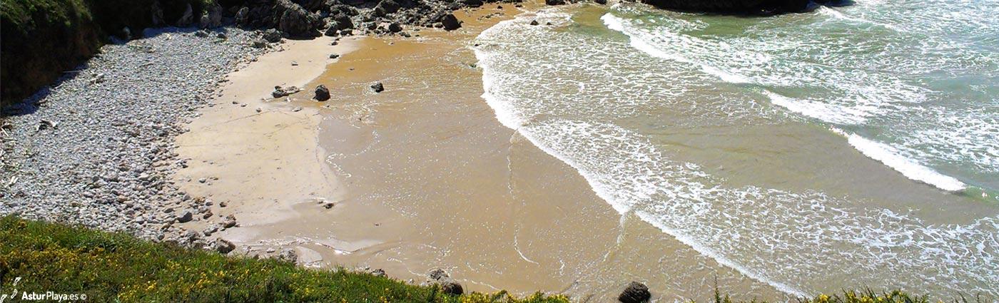 Playa de Portiellu de San Martín