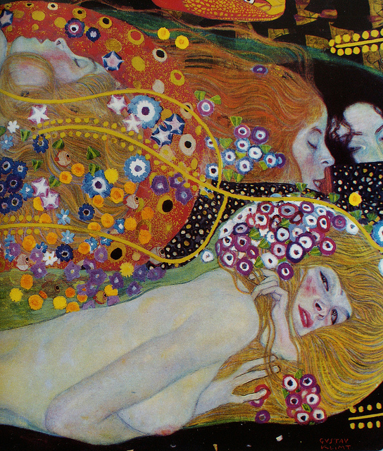 Gustav Klimt Detail