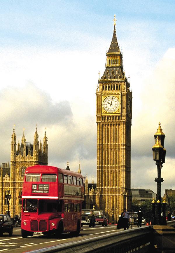Big Ben Londres Onibus