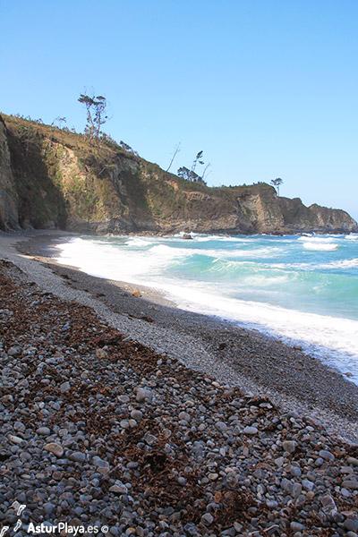 Cambaredo Beach Western Side