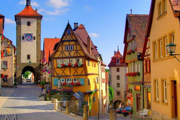 9. Rothenburg, Alemania