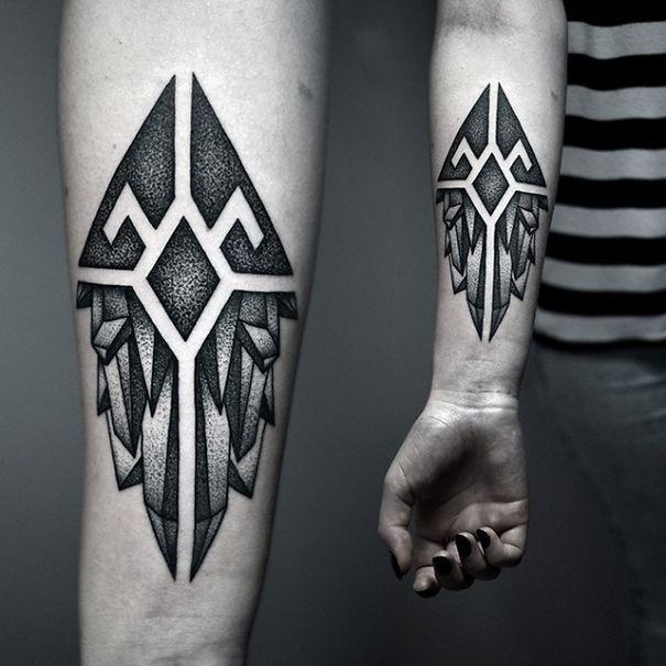 Best Dotwork Tattoos Lately2 605