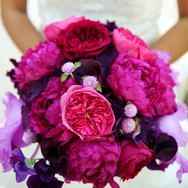 Photos De Bouquets De Pivoines Violets Mauves