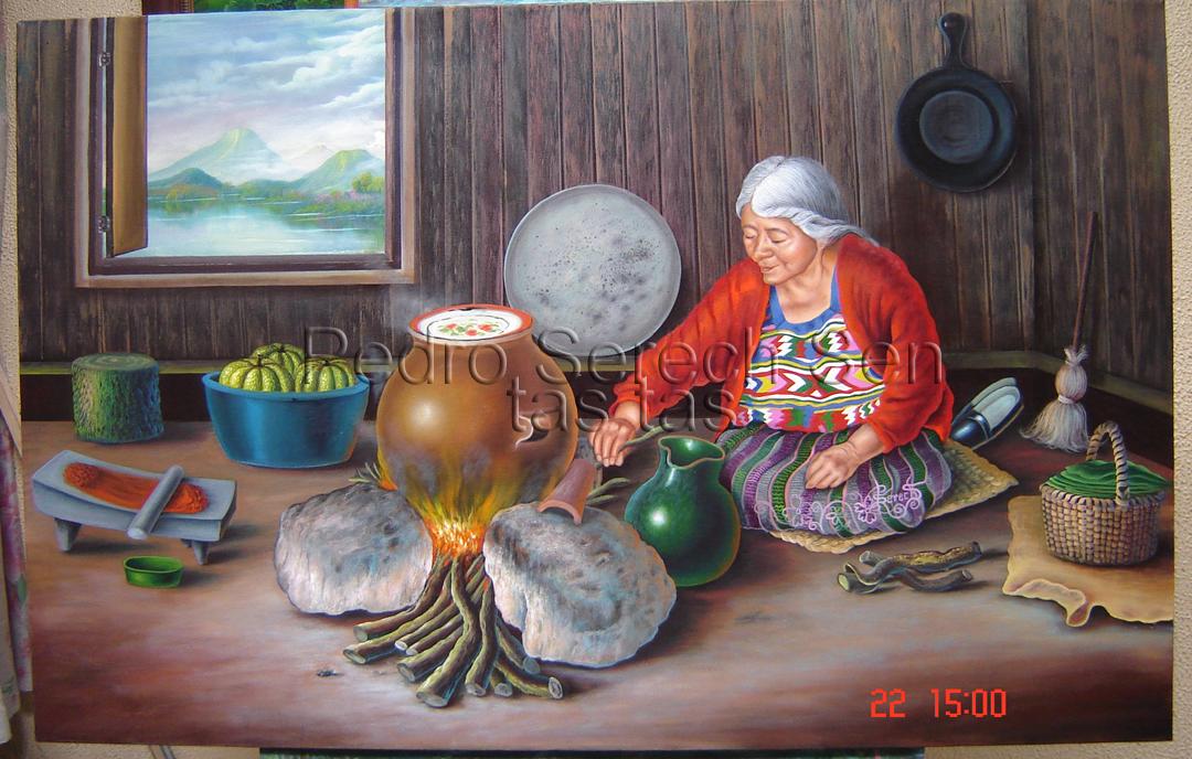 Cocinando Tamales Copia
