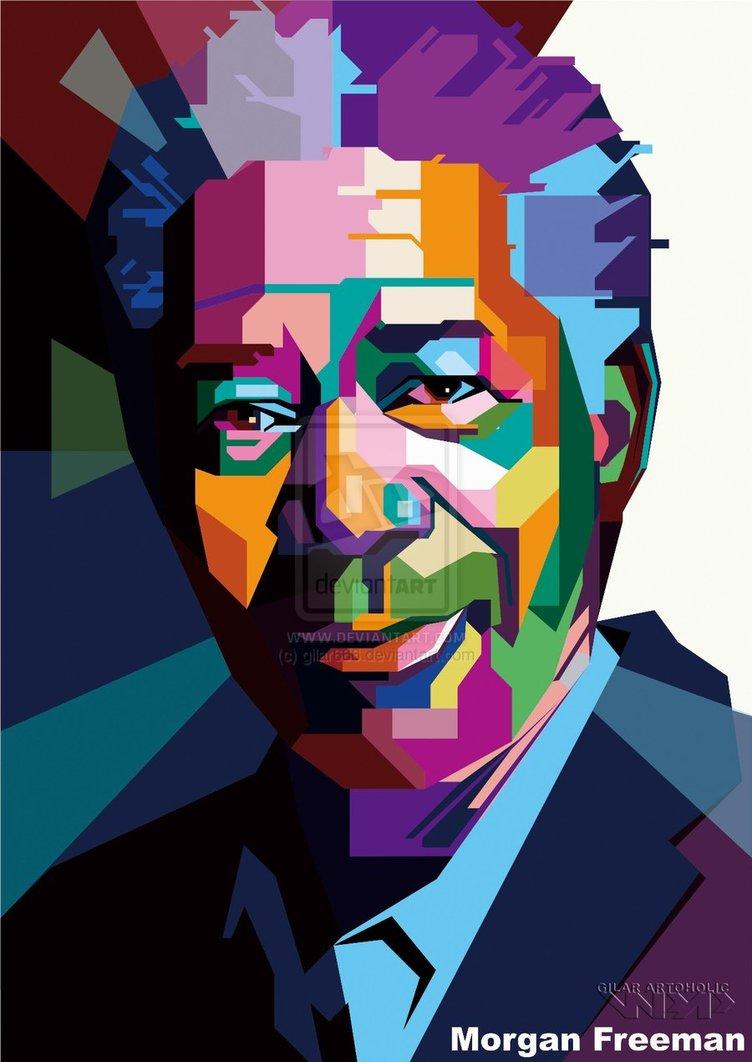 Morgan Freeman Wpap By Gilar666 D5ml3jx