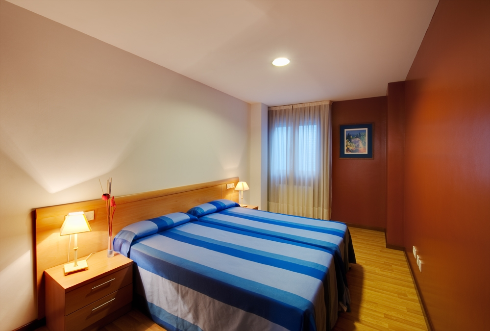 Dormitorio Doble Apartamento Blue San Esteban Gijon