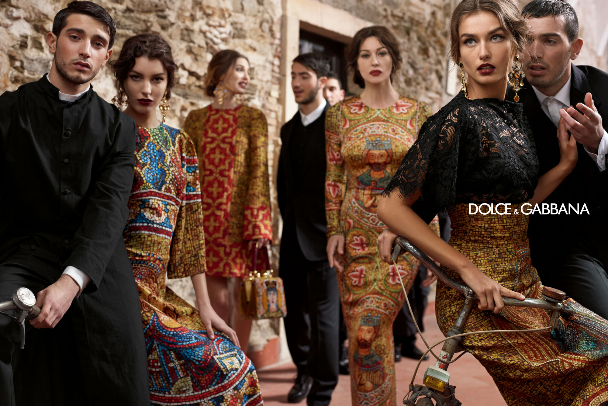 Dolce And Gabbana Fw 2014 Women Adv Campaign 8